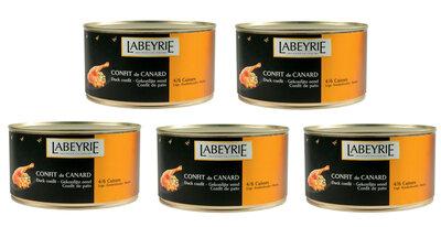 Actie 5 blikken Labeyrie Confit de Canard